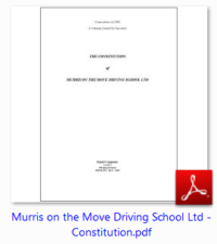 Murri's on the Move Driving School Ltd based on the Sunshine Coast png image of our Constitution