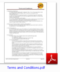 Murri's on the Move Driving School Ltd based on the Sunshine Coast Terms and Conditions pdf download